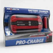Pro-Charge battery charger packaging