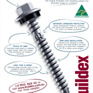 ROOFZIPS Roofing fastener – Trade Magazine Ad
