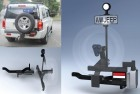 Spare wheel carrier – Jeep Commander